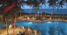#Hilton Waikoloa Village in Waikoloa, Hawaii, offers pools, Jacuzzis, waterfalls, slides and more. It's the perfect place to host a party.