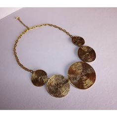 Fashionable Necklace in Copper Metal