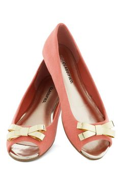 Peep toe bow flats in a neutral pink Cute Flats, Bow Flats, Cute Shoes, Me Too Shoes, Shoe Boots, Shoes Sandals, Heels, Fashion Shoes, Fashion Accessories