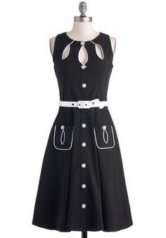 53691832114 New Voodoo Vixen ModCloth Swell-Heeled Dress - Large - - (no belt) - (LB) -  50