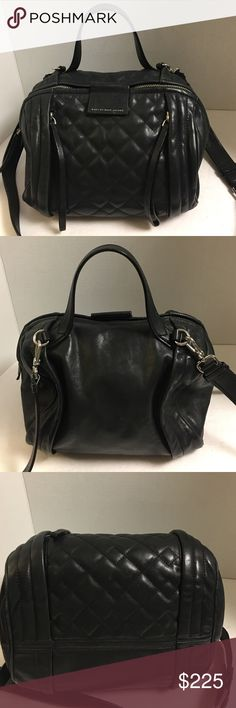 Selling this Marc Marc Jacobs Moto quilted leather shoulderbag on Poshmark! My username is: b287807. #shopmycloset #poshmark #fashion #shopping #style #forsale #Marc by Marc Jacobs #Handbags