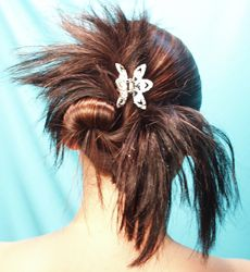 wrong Bride Hairstyles, Bobby Pins, Hair Accessories, Wedding Ideas, Hair Styles, Earrings, Beauty, Hairstyles For Brides, Hair Plait Styles
