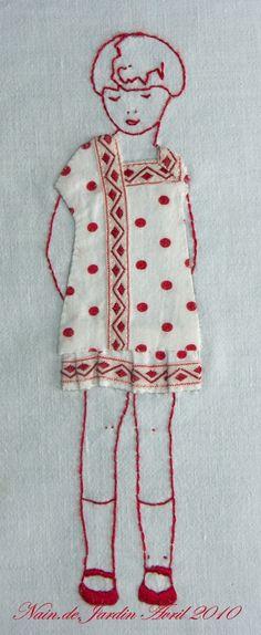 use Mom's baby dress