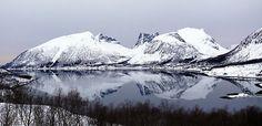 Bergsfjord,Senja, Northern Norway