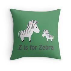 Funny Z is for Zebra design