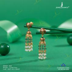 Fancy Jewellery, Gold Jewellery Design, Bead Jewellery, Pearl Jewelry, Beaded Jewelry, Wedding Jewellery Pearls, Jewelery, Jewelry Necklaces, Gold Jhumka Earrings