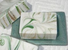 Oak Leaves and Acorns Soap-Cold Process