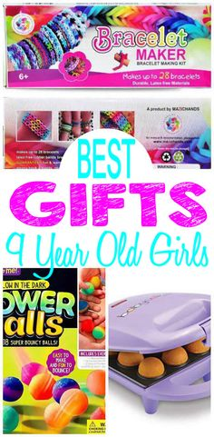 BEST Gifts 9 Year Old Girls Will Love Fun Creative Unique Presents For A 9th Birthday Christmas Or Holiday Find The Most AMAZING Gift Ideas With