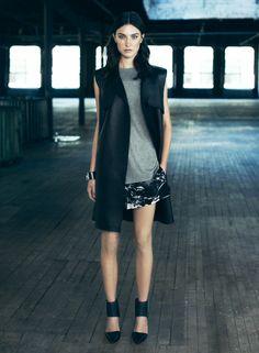 ALLSAINTS Spring 2014. Womenswear. Look 5. #ALLSAINTSNYFW