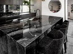 Make your kitchen pop with Bravvo Stone. Choose from marble, quartz, limestone, granite and many more. Stone Bench, Granite Kitchen, Travertine, Perth, Natural Stones, Marble, Home, Ad Home, Granite