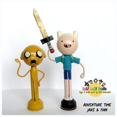 Hey, I found this really awesome Etsy listing at https://www.etsy.com/uk/listing/181228228/jake-finn-adventure-time-peg-dolls-fabi