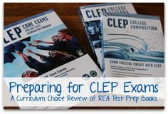 Earn College Credits with CLEP Test Prep by REA College Prep (with giveaway AND discount code!)