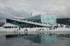 Opera House Oslo - Bjørvika, Oslo, Norway #norway