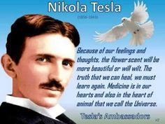 Disso Voce Sabia?: Tesla, Um Enviado dos Céus e a Guerra à Consciência