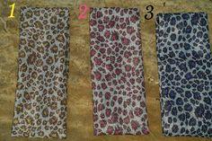 Silver Shimmer Leopard Headbands - Several Colors www.gypzranch.com