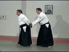 Morihiro Saito Sensei. Ushiro Ryote Dori koshinages at the end