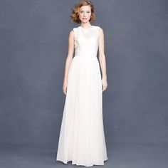 Quite a few wedding dress on sale on J.Crew online right now. Take a gander! (Or maybe you already have :] ) J.Crew Violette gown