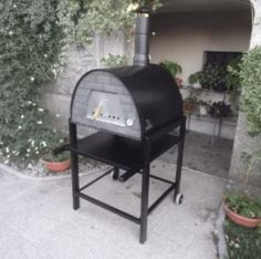 DESIGN: Wood-Burning Outdoor Pizza Ovens – ARTS&FOOD® Wood Burning Oven, Wood Fired Oven, Wood Fired Pizza, Portable Pizza Oven, Pizza Oven Outdoor, Pizza Oven For Sale, Stainless Steel Countertops, Fire Pizza, Fire Cooking
