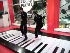 The Toccata and Fugue in D minor by Johann Sebastian Bach, played on The Big Piano at FAO Schwarz in NYC on December 22, 2010.