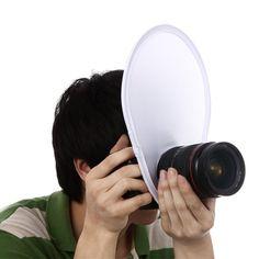 Meking Photography Flash lens Diffuser reflector for Canon Nikon Sony Olympus DSLR Camera