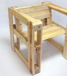 Cadeira de pallets                                                                                                                                                                                 Mais