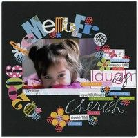 A Project by MoniL from our Scrapbooking Gallery originally submitted 10/12/06 at 09:40 AM