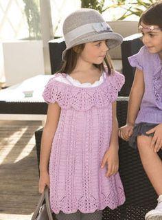 Adelaide Robe, Tunique enfant - Tutoriels de tricot en français chez Makerist