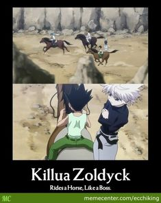 hunterx hunter funny | ha his name is zol dyck anime hunter x hunter 2011 added 34 minutes ...
