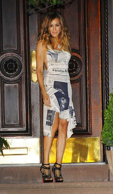 Dior by Galliano Newspaper Dress