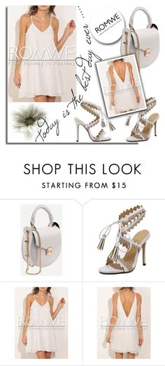 """""""ROMWE 9/8"""" by melissa995 ❤ liked on Polyvore"""