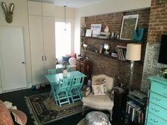Rachel's West Village Nest — Small Cool Contest | Apartment Therapy