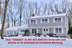 For Sale in Mahwah.   Under all this snow...a heated, inground pool, 2 decks and a beautifully landscaped acre in Mahwah's Fardale section!  http://www.searchnorthjerseyrealestate.com