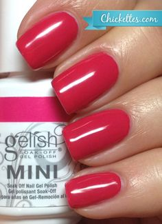 Gelish All Dahlia-ed Up Swatch - Love in Bloom Collection