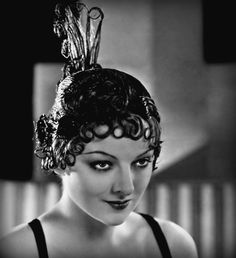 myrna loy rocking the best hair you've ever seen.