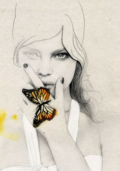 butterfly: sign of recovery once you come out of your cocoon. You can fly.