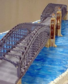 Joke: hey what do bridges and cakes have in common?? Answer:...nothing. that was a lame joke.