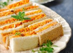 Carrot Cheddar Sandwiches...I'd try it....