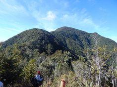 Sierra Maestra, a la izquierda; el Pico Suecia, a la derecha; y el Pico Real del Turquino / Foto: Cortesía del autor