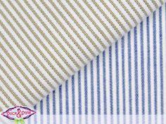 Stoff mit Streifen beidseitig beige/blau -Struktur von Stick and Style auf DaWanda.com