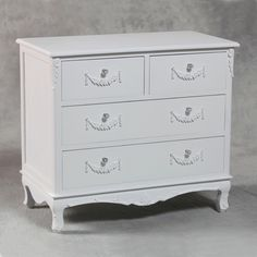 Shabby Chic Bedroom Furniture | ... two over two chest . Very French, very Shabby chic and Gorgeous