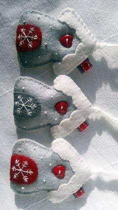 DIY – Csodás karácsonyi díszek filc anyagból – Lótusz