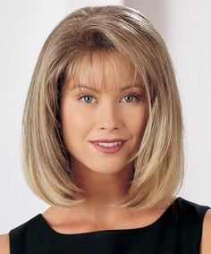 Bob Style Capless Trendy Side Bang Straight Synthetic Light Blonde Mixed Medium Wig For Women