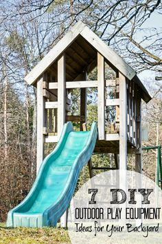 7 DIY Outdoor Play Equipment Ideas for Your Backyard