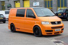 VW T5 LAMBORGHINI ORANGE RACELINE EDITION Vw Transporter Campervan, Vw T5 Interior, Cool Vans, Dream Cars, Dream Big, Vw Camper, Van Life, Lamborghini, Van
