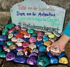 Image result for painting rocks to hide
