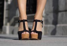 t-strap platforms