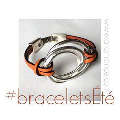 #braceletsCuir #AramanceCréationBijoux #collectionété