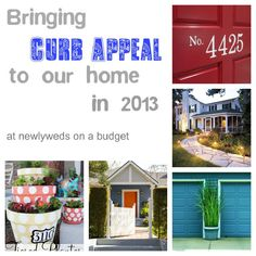 Updating your curb appeal doesn't have to be expensive check out some fabulous ways to boost your home's curb appeal
