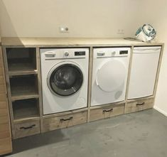 Does Home Depot Install Appliances Small Laundry Rooms, Laundry Room Storage, Laundry Room Design, Room Interior, Interior Design Living Room, Living Room Designs, Laundry Room Inspiration, Small Room Bedroom, Washing Machine