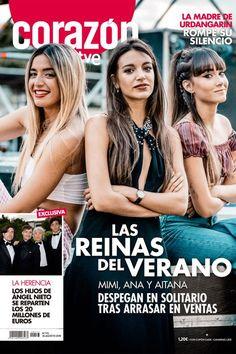 Aitana, Ana Guerra y Mimi, las reinas del verano, portada de 'Corazón' Better Music, Zendaya Coleman, Girl Power, Your Photos, Indigo, Singer, Actresses, Actors, My Love